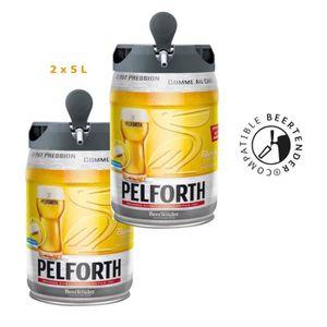 BIÈRE PELFORTH Lot de 2 Fûts de bière Blonde - Compatibl