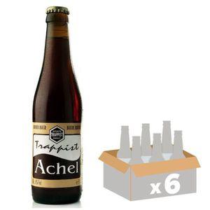 BIÈRE TRAPPIST ACHEL Bière Brune - 33 cl x6 - 8 %