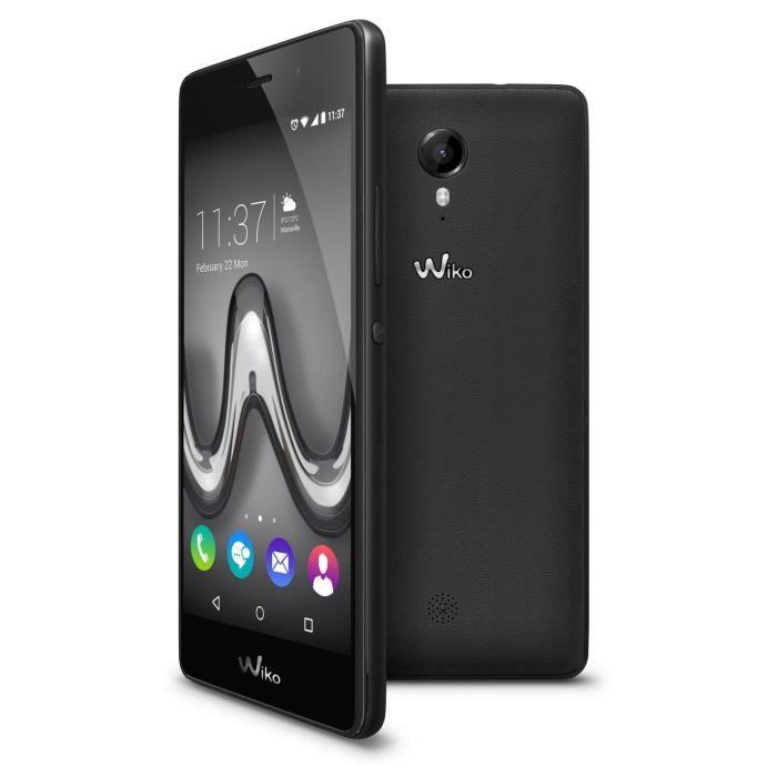 Wiko Tommy True Noir - Achat smartphone pas cher, avis et meilleur ... 09561f46a88e