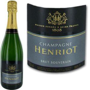CHAMPAGNE Champagne Henriot Brut Souverain x1