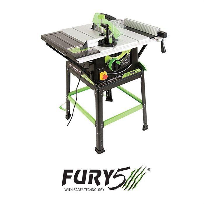 evolution scie sur table multi-usages fury5 255mm - achat / vente