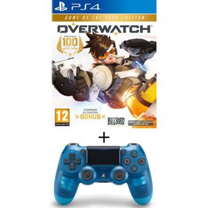 JEU PS4 Pack Overwatch Goty Edition Jeu PS4 + Manette Dual