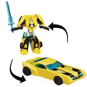 FIGURINE - PERSONNAGE TRANSFORMERS Robot In Disguise  Deluxe Bumblebee