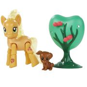FIGURINE - PERSONNAGE MY LITTLE PONY - Articule Action Deluxe Applejack