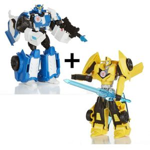 FIGURINE - PERSONNAGE TRANSFORMERS Robots in Disguise - STRONGARM + BUMB