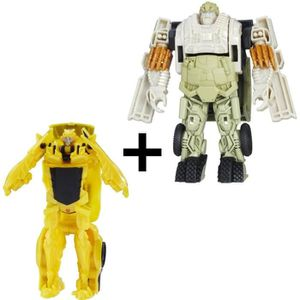 FIGURINE - PERSONNAGE TRANSFORMERS The Last Knight - BUMBLEBEE + AUTOBOT