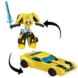FIGURINE - PERSONNAGE TRANSFORMERS Robots in Disguise - BUMBLEBEE - Robo