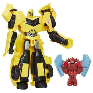 FIGURINE - PERSONNAGE TRANSFORMERS Rid Power Heroe Bumblebee 25cm