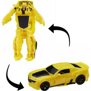 FIGURINE - PERSONNAGE TRANSFORMERS The Last Knight - BUMBLEBEE Turbo Cha