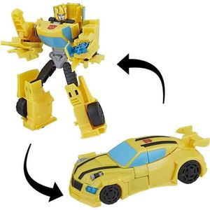 FIGURINE - PERSONNAGE TRANSFORMERS Cyberverse - Bumblebee - Robot 15cm