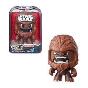 FIGURINE - PERSONNAGE MIGHTY MUGGS STAR WARS - CHEWBACCA - Figurine 15cm