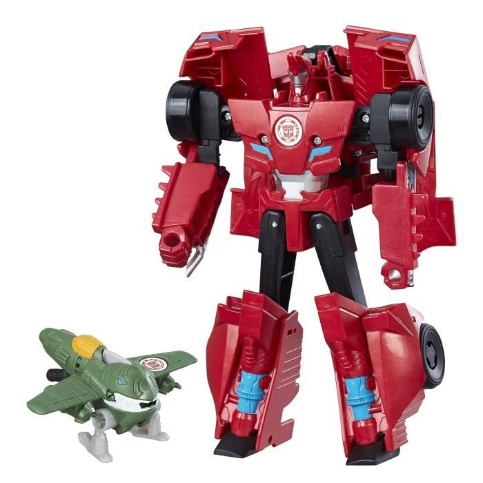 Figurine Combiner Transformers In Et Force Robots Sideswipe Byte Disguise 13cm Great pqSzMVGU
