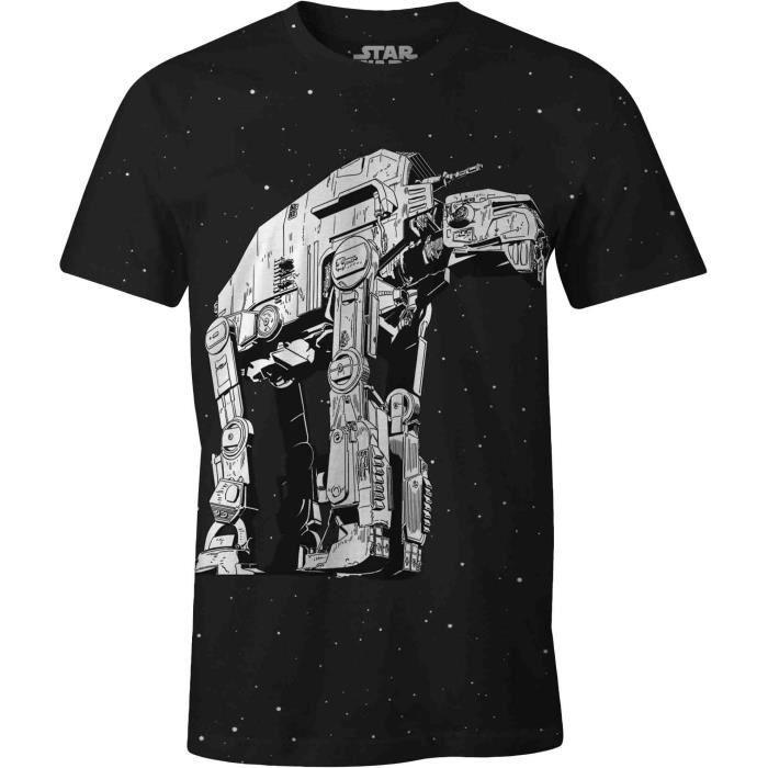 T-SHIRT T-shirt Adulte Star Wars : ATM6 - Noir