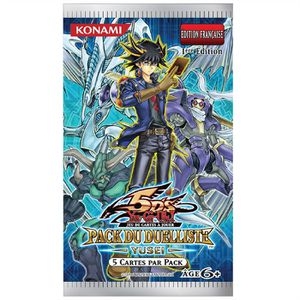 CARTE A COLLECTIONNER Yu Gi Oh Pack! Booster du duelliste Yussei Asmodee