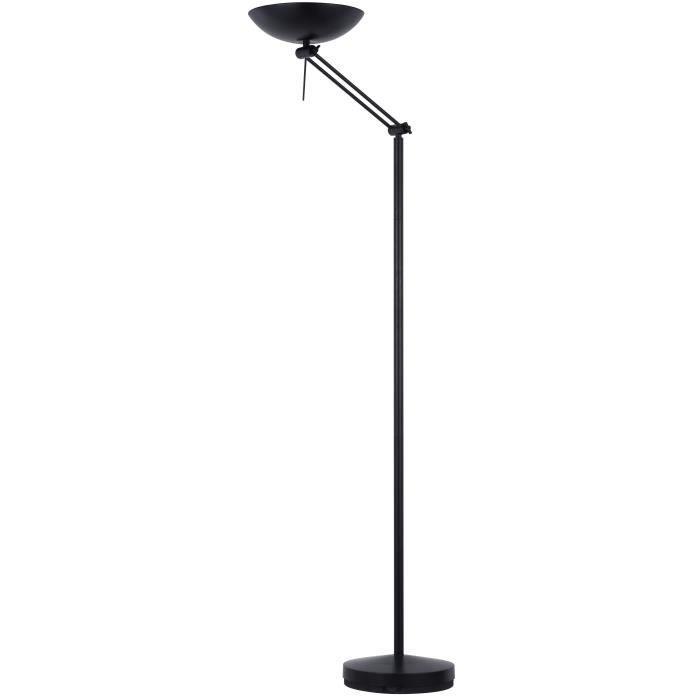 linea lampadaire en metal noir o28 cm h178 cm Résultat Supérieur 15 Impressionnant Lampadaire En Metal Photos 2017 Ksh4