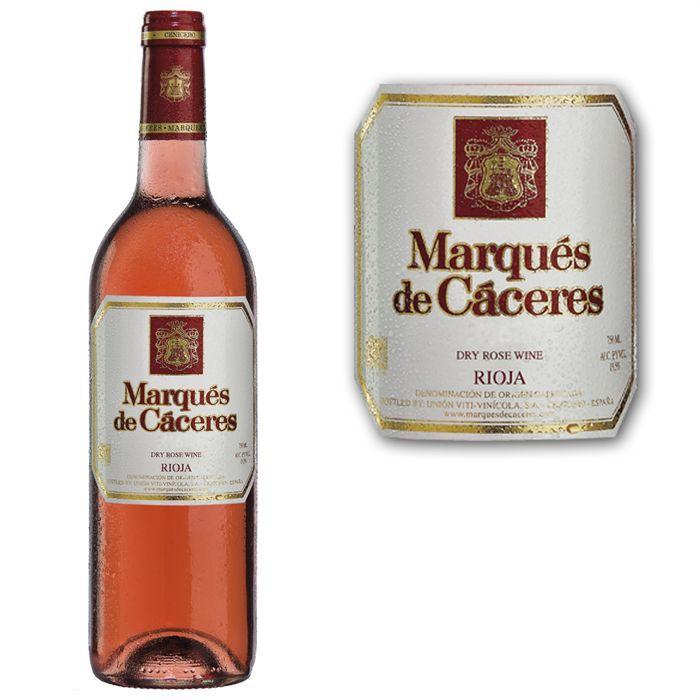 VIN ROSÉ Marques de Caceres rosé 2009