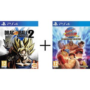 JEU PS4 Pack 2 jeux PS4 : Dragon Ball Xenoverse 2 + Street