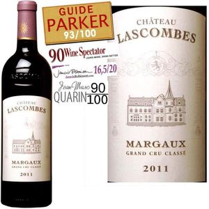 VIN ROUGE Château Lascombes Margaux 2011 - Vin rouge