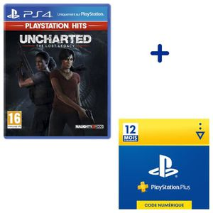 JEU PS4 Offre Duo : Uncharted: The Lost Legacy PlayStation