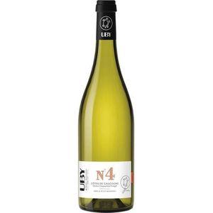 VIN BLANC UBY N°4 Côtes de Gascogne Gros et Petit Manseng Vi