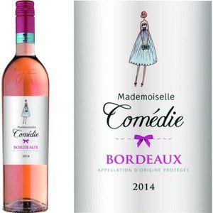 VIN ROSÉ MADEMOISELLE COMEDIE 2016 Vin de Bordeaux - Rosé -