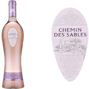 VIN ROSÉ Chemin des Sablens 2016 La Côte Rêvée - Vin rosé d