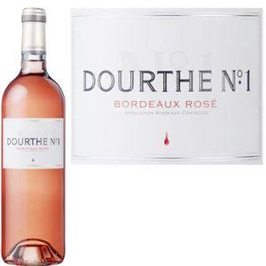VIN ROSÉ Dourthe N°1 2017 Bordeaux - Vin rosé de Bordeaux