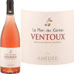 VIN ROSÉ Le Plan des Cerises 2014 Ventoux -Vin rosé des Côt
