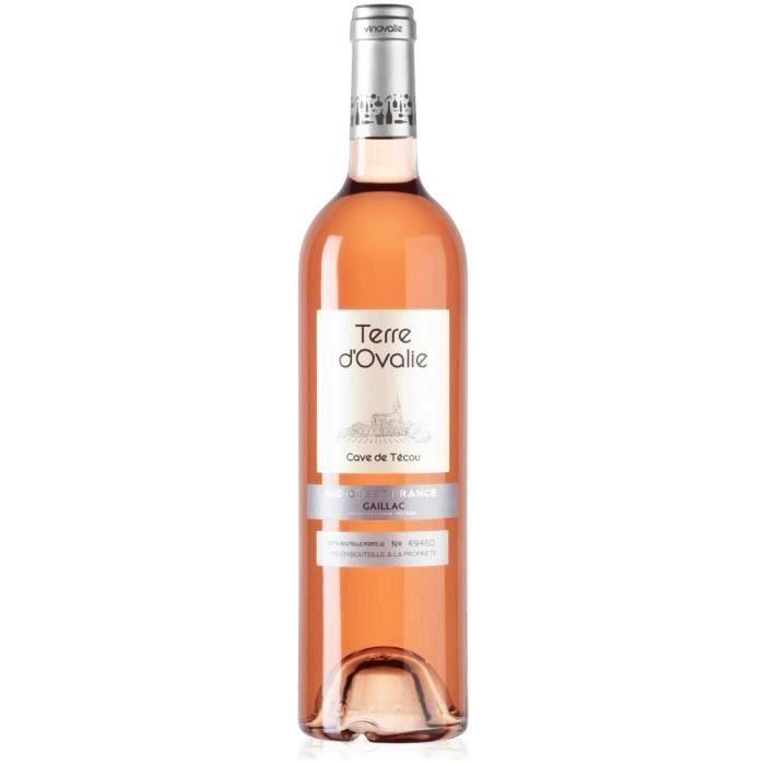 VIN ROSÉ Terre d'Ovalie AOP Gaillac 2015 - Vin rosé