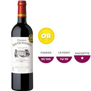 VIN ROUGE CHÂTEAU LES GUYONNETS 2015 Cadillac Vin des Côtes