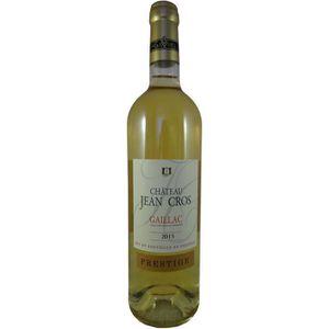 VIN BLANC Château Jean Gros  2015  Prestige Gaillac - Vin bl