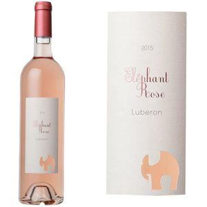 VIN ROSÉ Éléphant Rose Côtes du Luberon 2015 -  Vin rosé