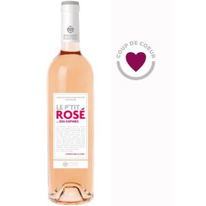 VIN ROSÉ Le P'tit Rosé des Copines 2015 Méditerranée - Vin