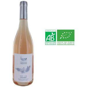 VIN ROSÉ Château Argentiès Languedoc Bio 2016 - Vin rosé