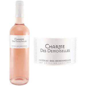 VIN ROSÉ Charme des Demoiselles AOP Côtes de Provence 2016