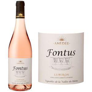 VIN ROSÉ Fontus 2016 Lubéron - Vin rosé de la Vallée du Rhô