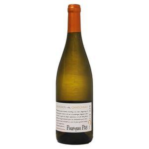 VIN BLANC Pourquoi Pas ? 2017 Chardonnay Sauvignon Val de lo