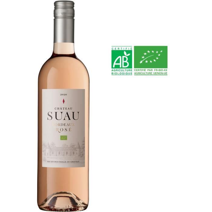 VIN ROSÉ Château Suau 2017 Bordeaux - Vin rosé de Bordeaux