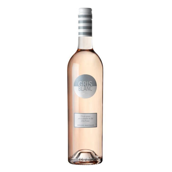 VIN ROSÉ Gris Blanc 2018 Pays d'Oc - Vin rosé du Languedoc-