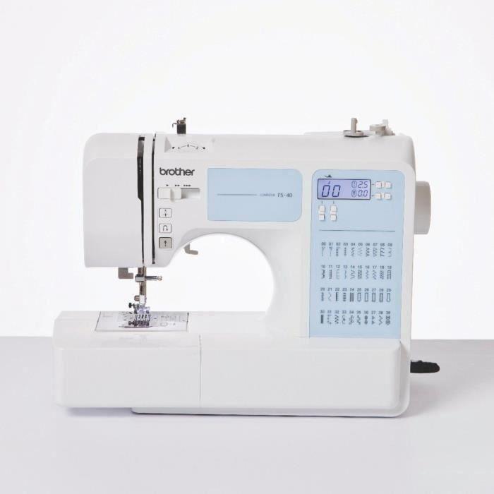 MACHINE À COUDRE BROTHER Machine à coudre - FS40VM2 - 40 points - 7