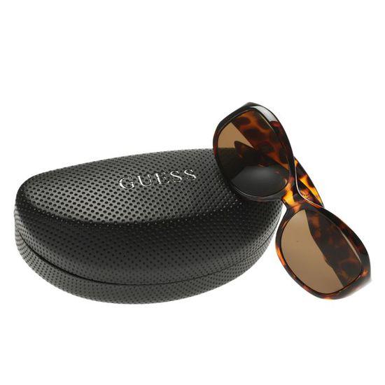 GUESS Lunettes de Soleil GUT106T S44 Femme Marron - Achat   Vente lunettes  de soleil Femme - Soldes  dès le 9 janvier ! Cdiscount 3ad50db94348