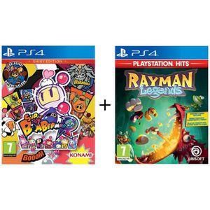 JEU PS4 Pack 2 jeux Kids PS4 : Super Bomberman R: Shiny Ed