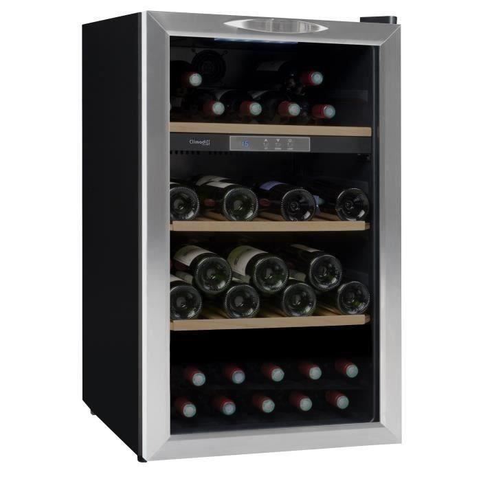 climadiff cls50 - cave à vin de service - 52 bouteilles - pose