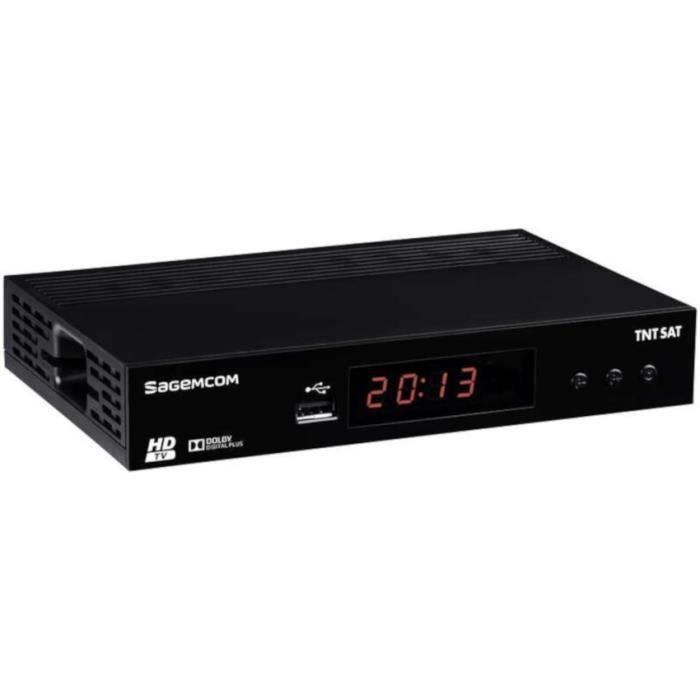 RÉCEPTEUR - DÉCODEUR   SAGEM DS81 Adaptateur TNT Satellelite HD - Carte v