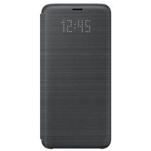 HOUSSE - ÉTUI Samsung LED View Cover S9 - Noir