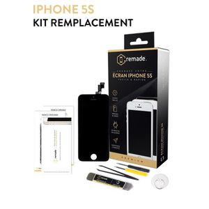 ECRAN DE TÉLÉPHONE RIF Kit réparation Ecran iPhone 5S Noir