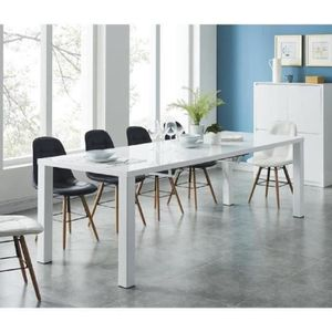 Table extensible achat vente table extensible pas cher for Table ovale extensible 10 personnes