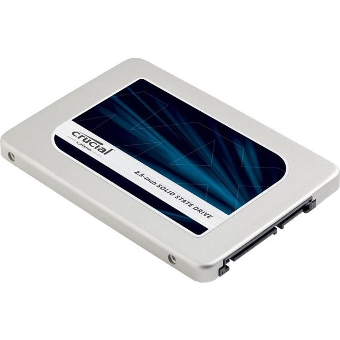 """DISQUE DUR SSD Crucial SSD MX300 1To - 2,5"""" - 7mm  CT1050MX300SSD"""