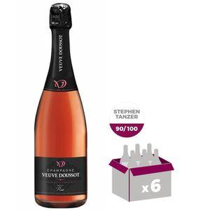 CHAMPAGNE Champagne Veuve Doussot Rosé x6