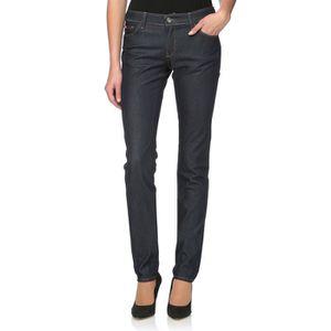 LEE COOPER Jean Skinny Femme Noir - Achat   Vente jeans - Soldes ... 3ff2bd856602